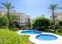 Двуспальные апартаменты с видом на море в урбанизации Villa Gadea, Коста-Бланка